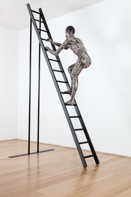 , 'Man on Wooden Ladder,' 1984-1988, Marlborough London
