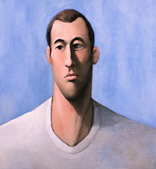 , 'Pensive Looking Man,' 2018, Massey Klein Gallery