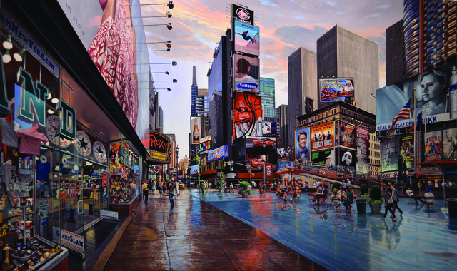 , 'Times Square,' 2012, Bernarducci Meisel Gallery