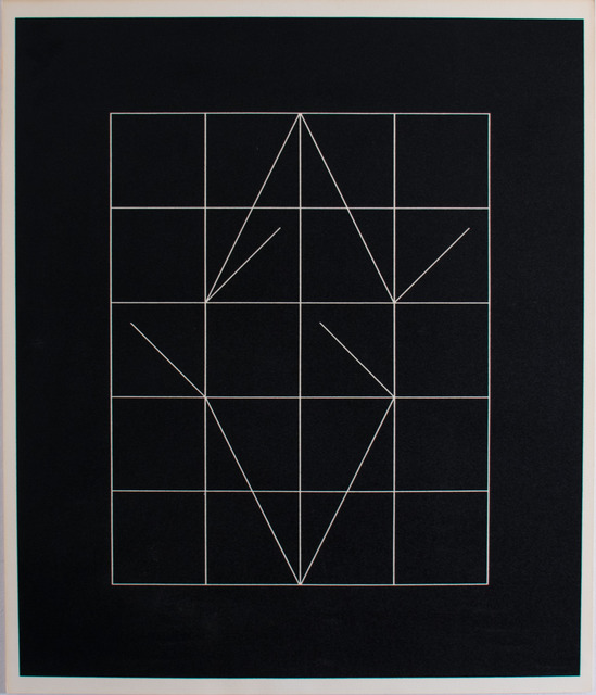 Anthony Hill, 'Vector Rythms', 1972, Print, Screenprint on wove paper, RCM Galerie