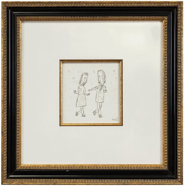 William Anthony, 'Dance With Me, Caricature Drawing', 1988, Lions Gallery