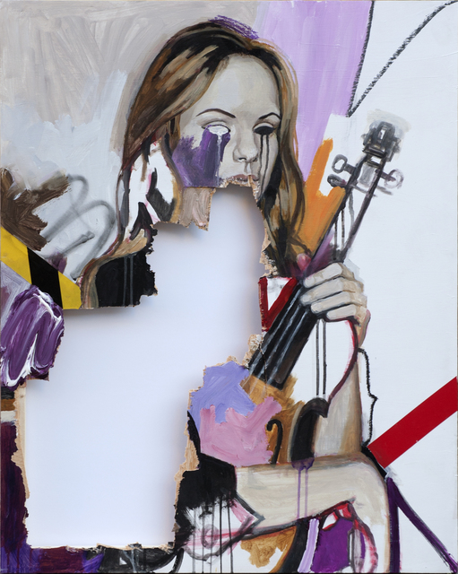 Skum, 'The sound of sick muse ', 2017, Galeria Contrast