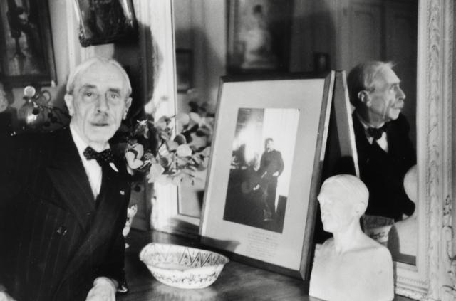 Henri Cartier-Bresson, 'Paul Valery, 1945', printed later, Michael Hoppen Gallery