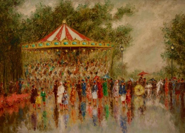 , 'Carousel du Parc,' , Anderson Galleries
