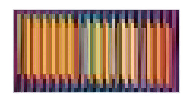 , 'Physichromie 1977, Paris,' 2015, Galeria Raquel Arnaud