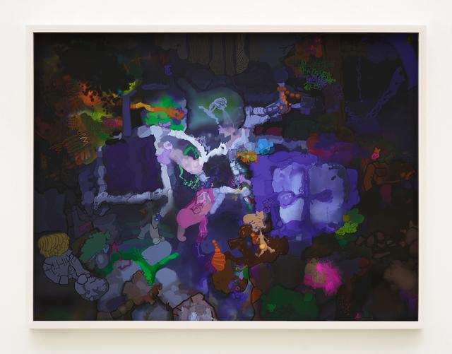, 'G,' 2017, Johannes Vogt Gallery