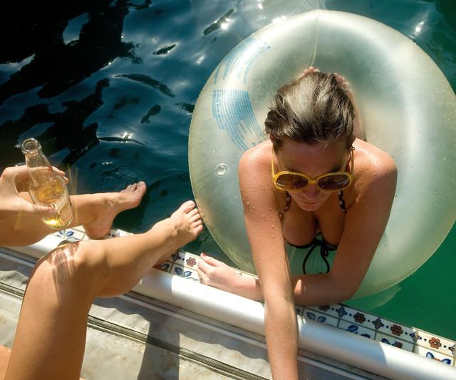 , 'Louise in Pool,' , ArtStar
