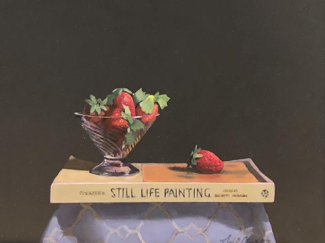 Neil Christensen, 'Strawberries', 2018, Painting, Oil, Kiechel Fine Art