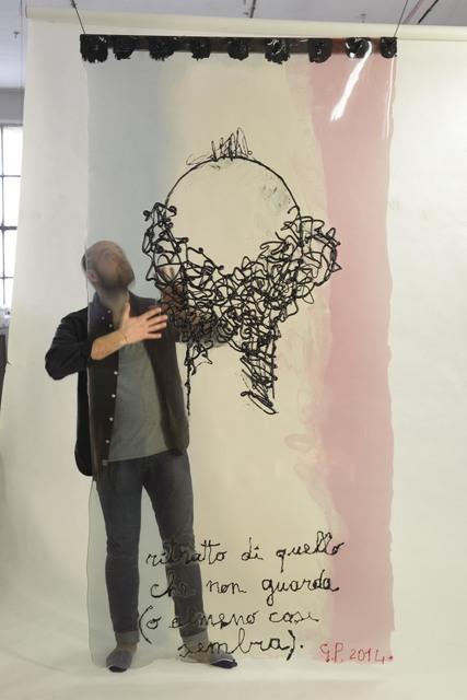 , 'Ritratto di quello che non guarda (o almeno cosi' sembra...),' 2014, Museum of Arts and Design