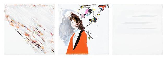 , 'Temporal memories cut apart by wind,' 2016, Yiri Arts