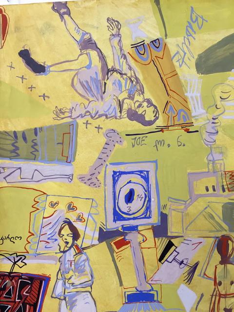 , 'Baselitz,' 1991, Popiashvili Gvaberidze Window Project