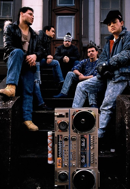 , 'Boombox on the stoop, Spanish Harlem, NY ,' 1988, Galerie Bene Taschen