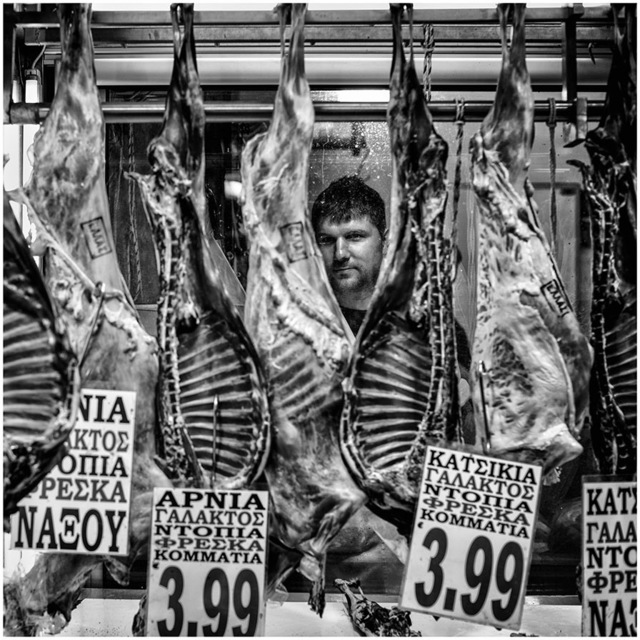 , 'Butcher, Athens,' 2015-2016, Photo12 Galerie