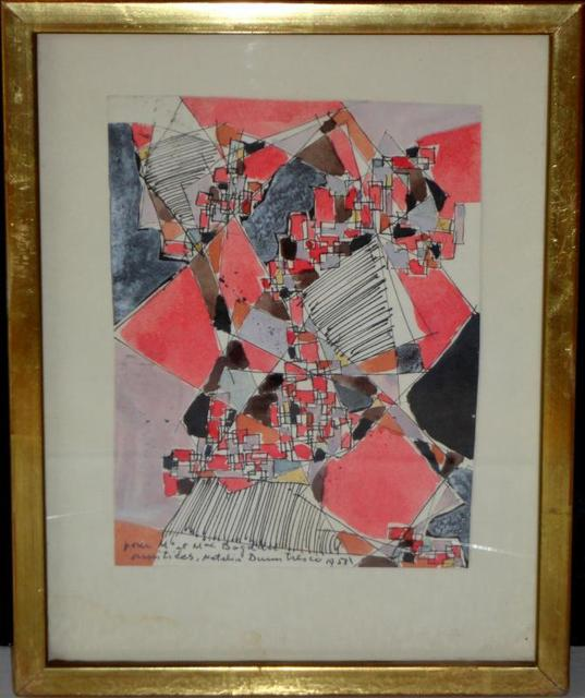 , 'Abstract Compsition,' 1958, SkyGallery