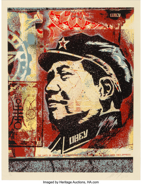 Shepard Fairey (OBEY), 'Mao', 2003, Heritage Auctions