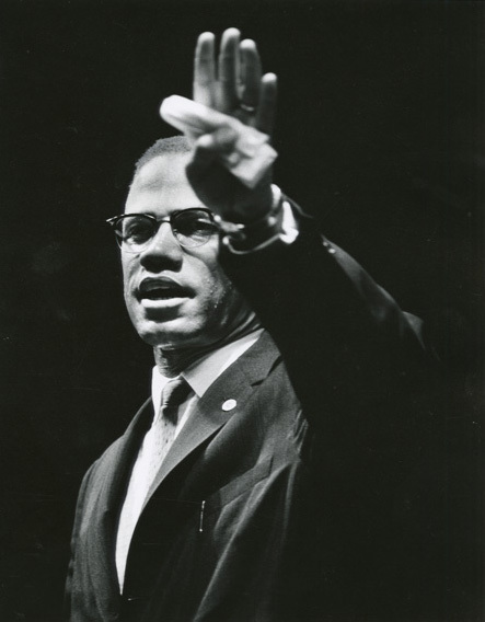 , 'Malcolm X at Rally, Chicago, Illinois,' 1963, Jenkins Johnson Gallery