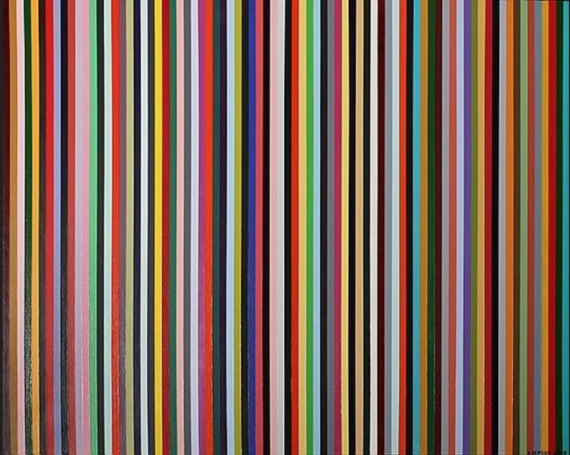 , '79 Lines About 79 Colors,' 2008, InLiquid