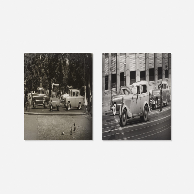 Weegee, 'Untitled (two works)', c. 1955, Wright