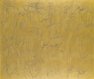 Ghada Amer, 'Golden Stripes,' 2005, Sotheby's: Contemporary Art Day Auction