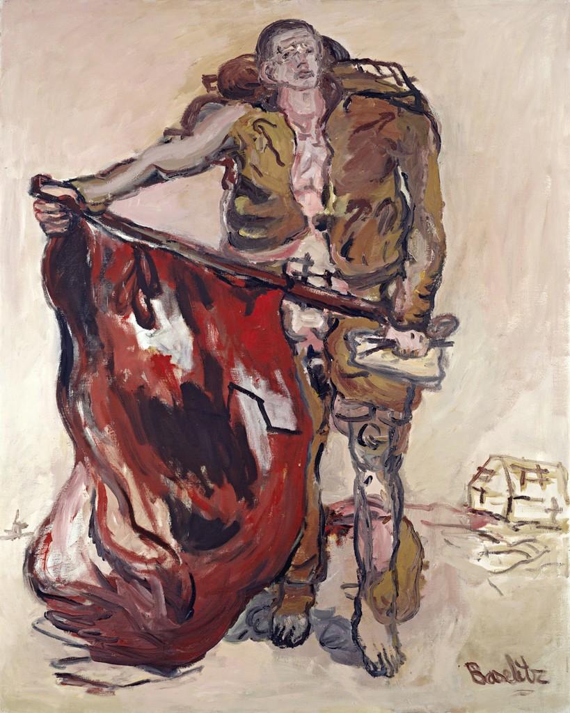 Resultado de imagen para georg baselitz paintings
