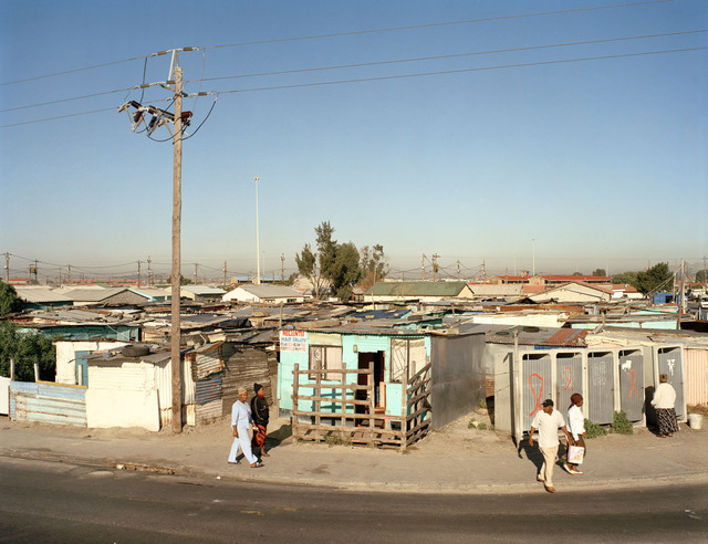 , 'On Lansdowne Road, Khayelitsha, Cape Town, in the time of AIDS,' 2007, Goodman Gallery
