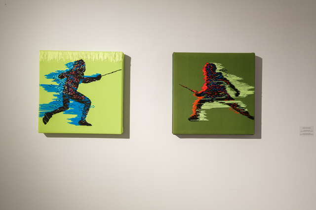 , 'Interference (diptych).,' 2014, Marina Gisich Gallery