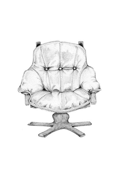 , 'Chair,' 2014, Rebecca Hossack Art Gallery