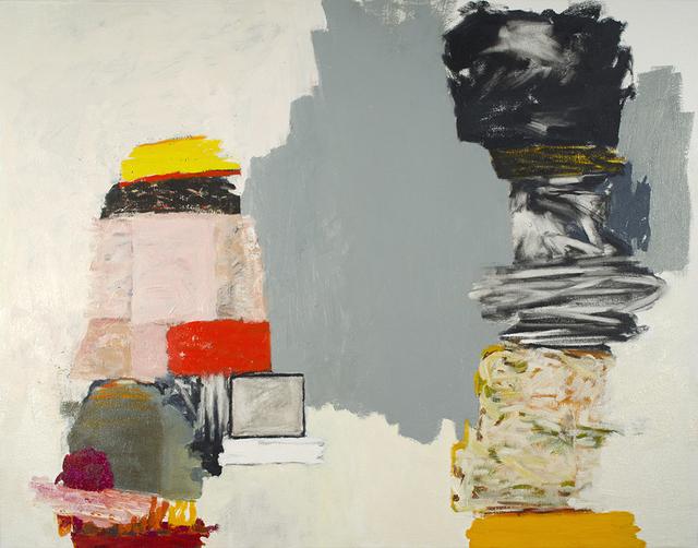 , 'Two Columns,' 2014, Kathryn Markel Fine Arts