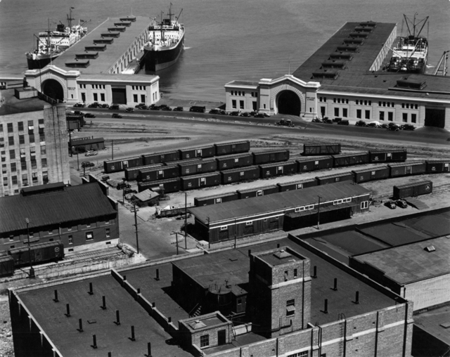 , 'Embarcadero, San Francisco,' 1937, Scott Nichols Gallery