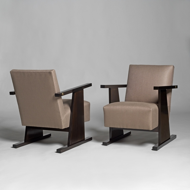 , 'Two armchairs,' ca. 1935, Galerie Alain Marcelpoil