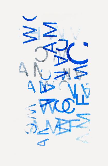 , 'Typo Comp 2,' 2010, Espace40