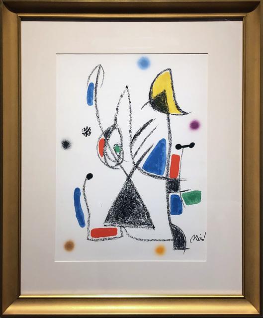 Joan Miró, 'Maravillas con variaciones acrósticas en el jardín de Miró (XVI)', 1975, DTR Modern Galleries
