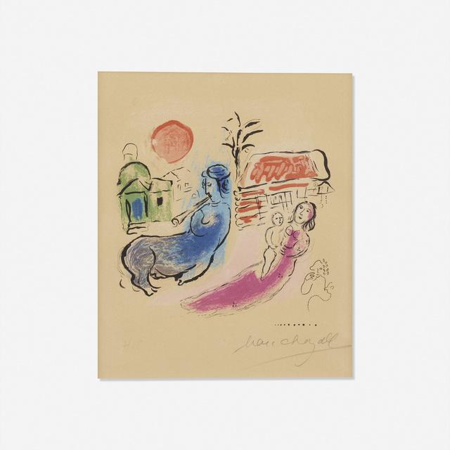 Marc Chagall, 'Maternite au Centaure', 1957, Print, Lithograph in colors on Arches, Rago/Wright
