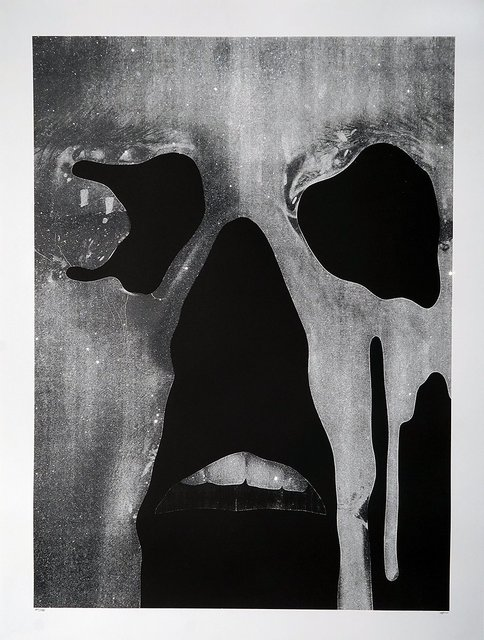 Jesse Draxler, 'Untitled, (brain leaked from their eyes like they were crying their own mind)', 2016, David Benrimon Fine Art
