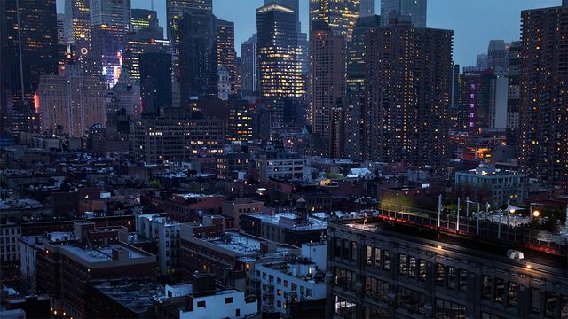 David Drebin, 'Girl In New York', 2011, Isabella Garrucho Fine Art