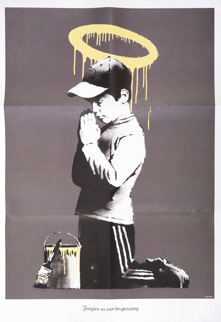 Banksy, 'Forgive Us Our Trespassing', 2010, Print, Offset lithograph in colours, Tate Ward Auctions