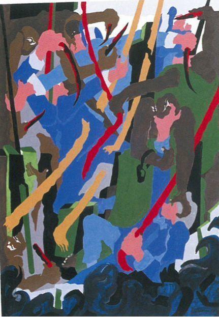 , 'Revolt on the Amistad,' 1989, ACA Galleries