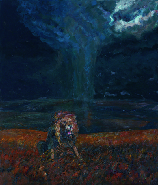 , 'Lion and Tornado,' 2016, Lorenzelli arte