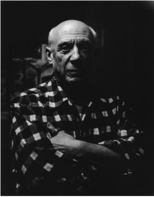 Lucien Clergue, 'Picasso', Kunzt Gallery