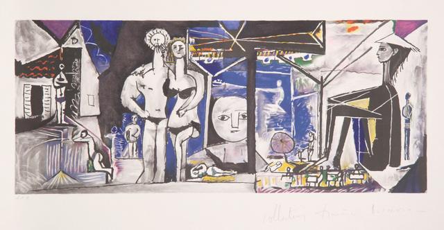 Pablo Picasso, 'Jeux de Plage, 1955', 1979-1982, Print, Lithograph on Arches paper, RoGallery
