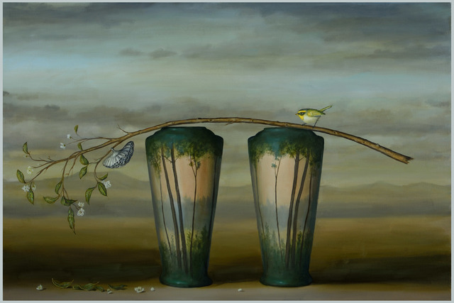 , 'Branch and 2 Vases,' 2016, Zolla/Lieberman Gallery