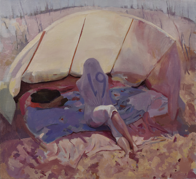 , '19,' 2018, Linda Hodges Gallery