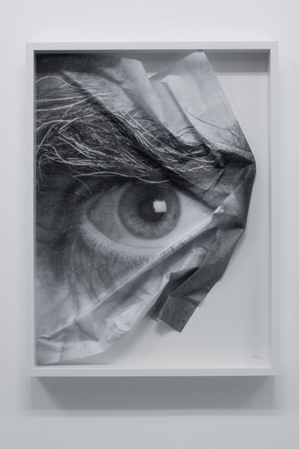 , 'The Wrinkles of the City, Los Angeles, Oeil froissé encadré 3,' 2011, Hong Kong Contemporary Art