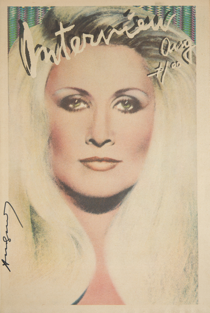 Andy Warhol, 'Andy Warhol Signed Interview Magazine', Print, Julien's Auctions