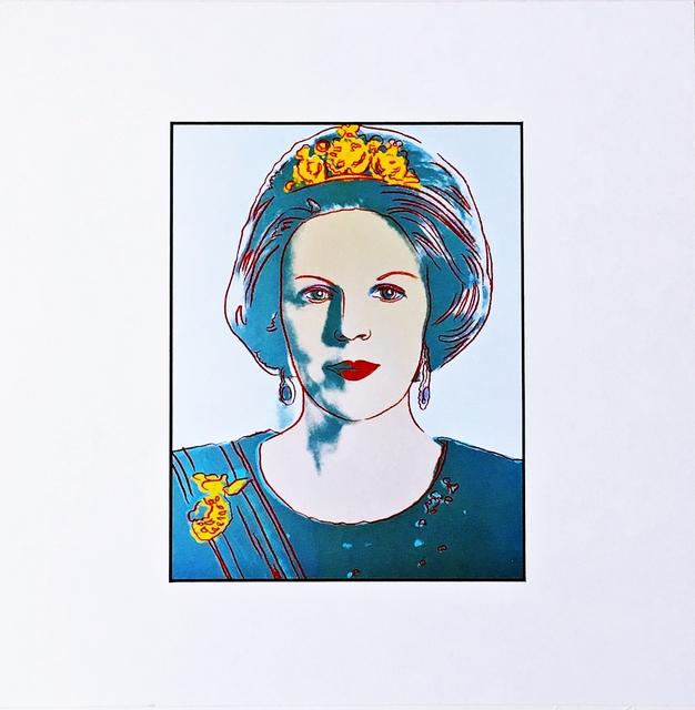 Andy Warhol, 'Konigin Beatrix for Art Basel', 1987, Alpha 137 Gallery