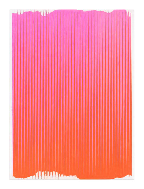 , 'Lonely Planet (Hot Pink / Mineral Orange),' 2016-2017, Gavlak