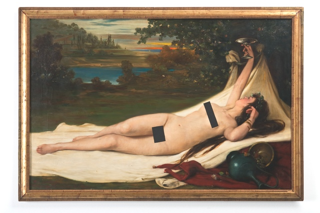 , 'Masked nude,' , Galerie Mehdi Chouakri