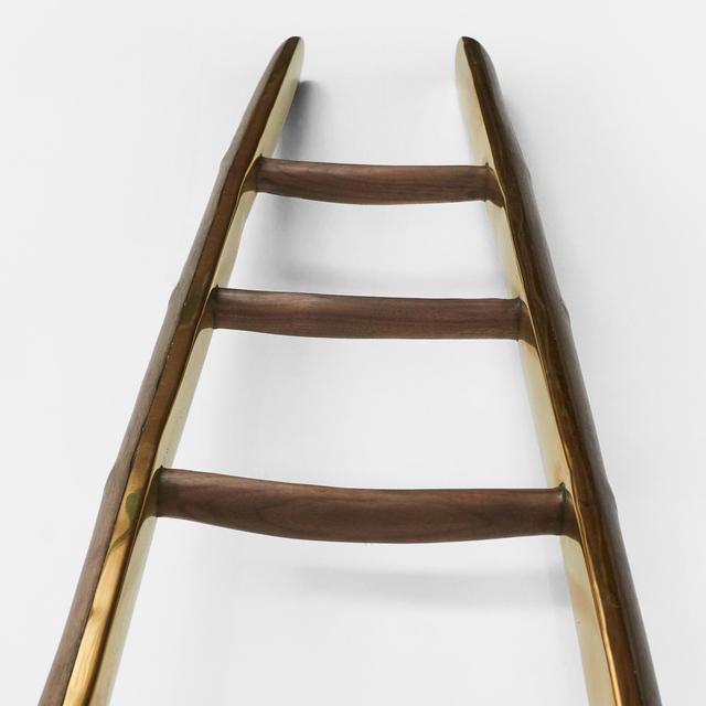 , 'Brass & black walnut ladder,' 2016, Almond & Co.