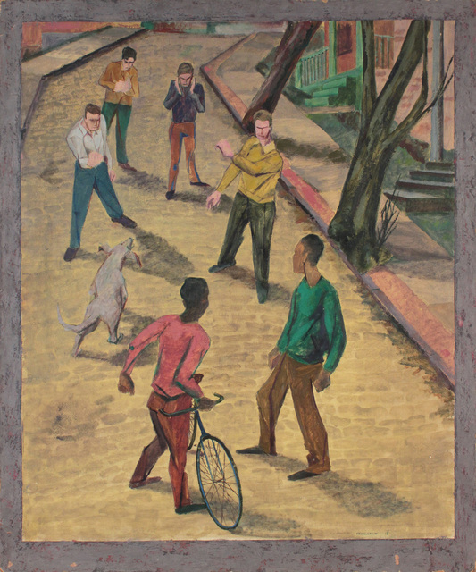 , 'Street Fight,' 1946-1947, Andy Warhol Museum