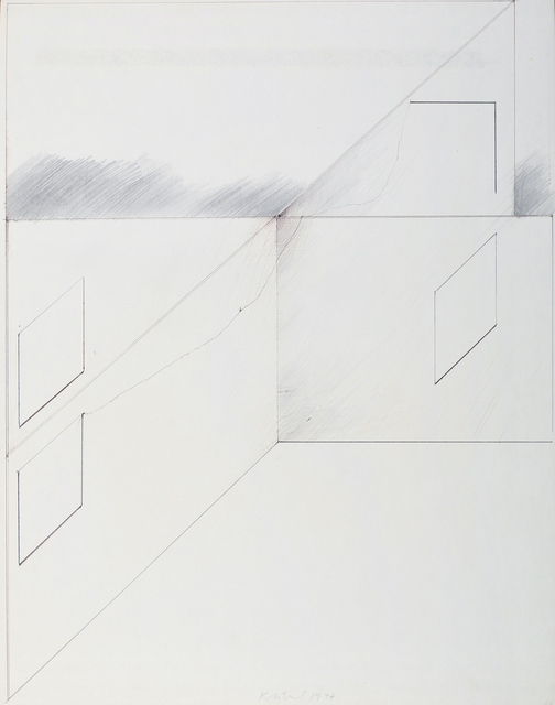", 'From the series ""Illusion and Fiction"",' 1977, Galerie aKonzept"